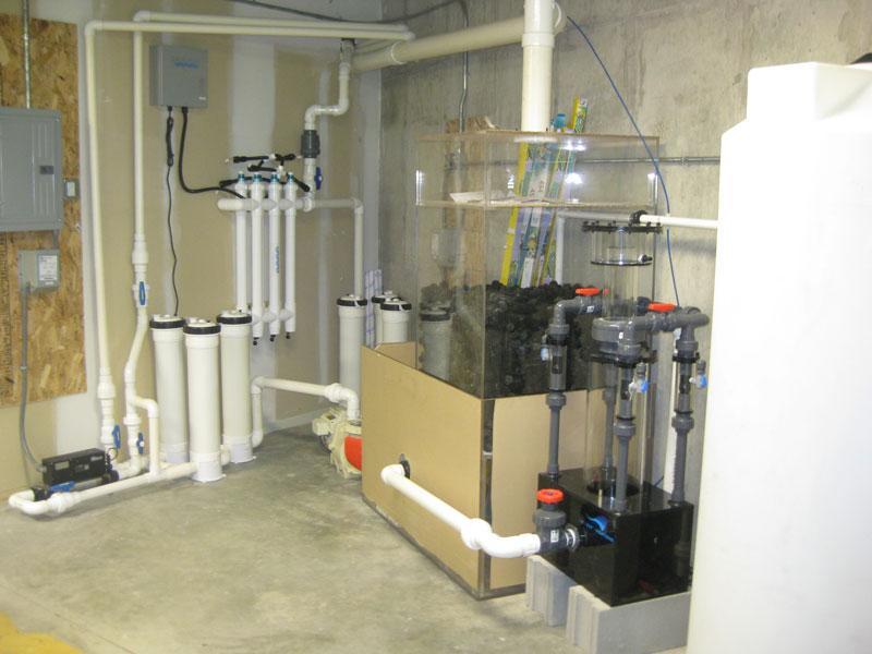 how to build an aquarium filter system