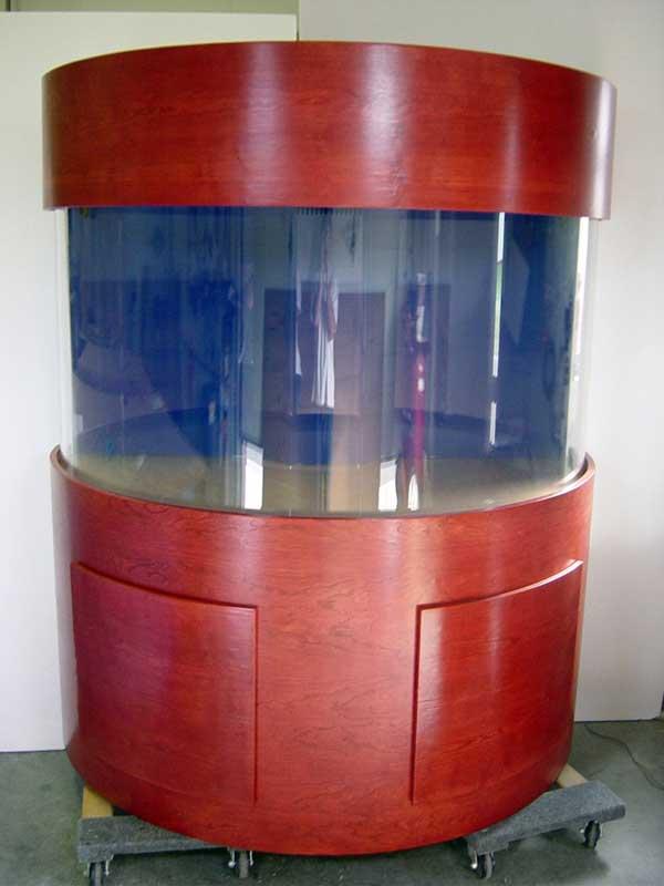 Half Cylinder Cabinetry
