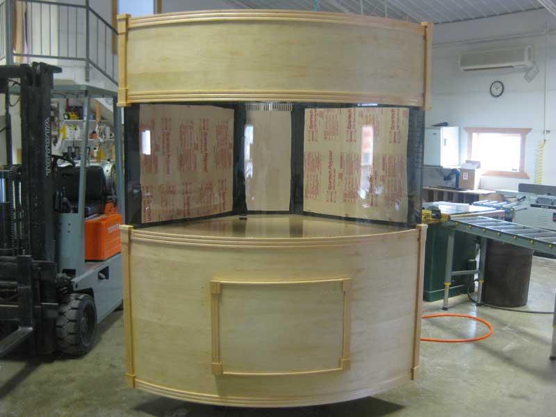Quarter Cylinder Cabinetry