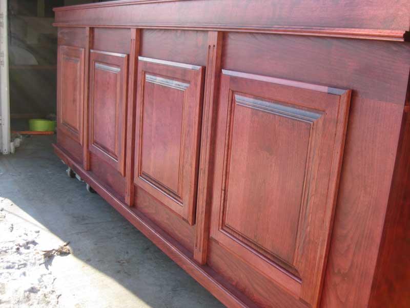 Deluxe Cherry Cabinet Aquarium Cabinet