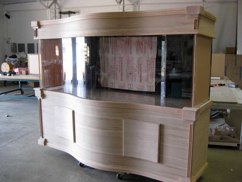 Unfinished Cherry Cabinetry