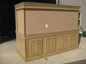 Finished Oak Cabinet for Aquarium