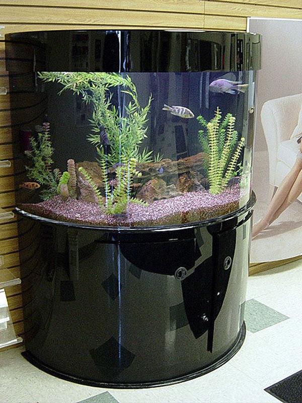 Half Cylinder Aquarium