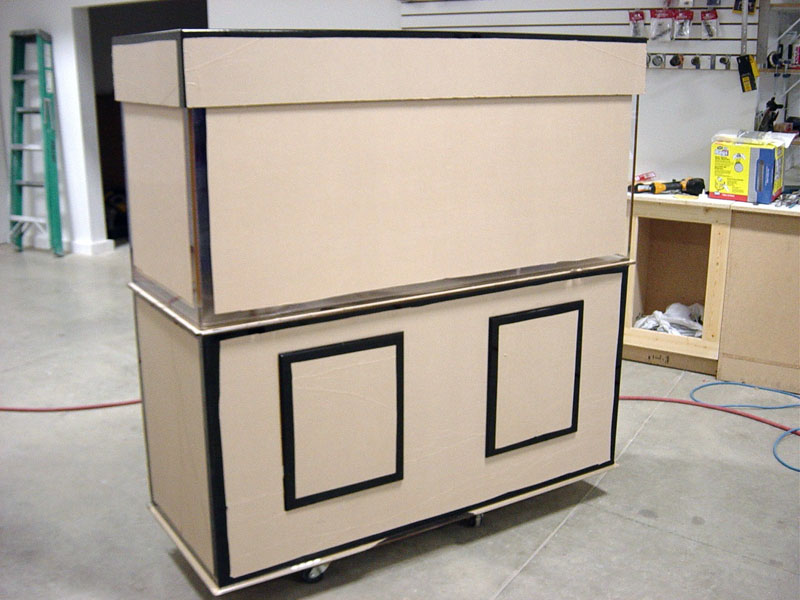 Closed Rectangle Cabinetry