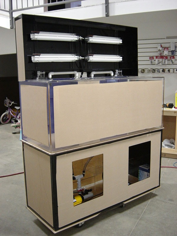 Open Rectangle Cabinetry