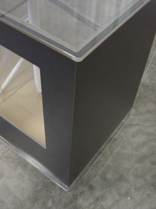 Acrylic Cabinetry Detail
