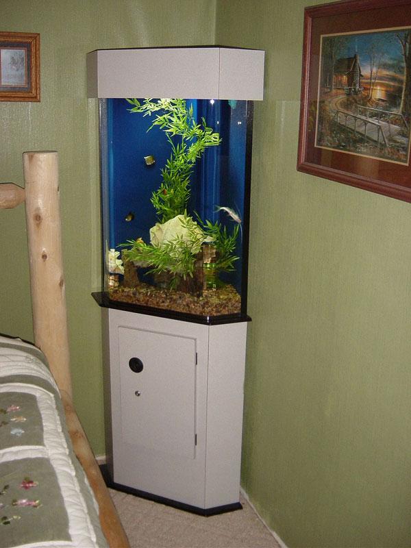Corner Laminated Acrylic Cabinetry