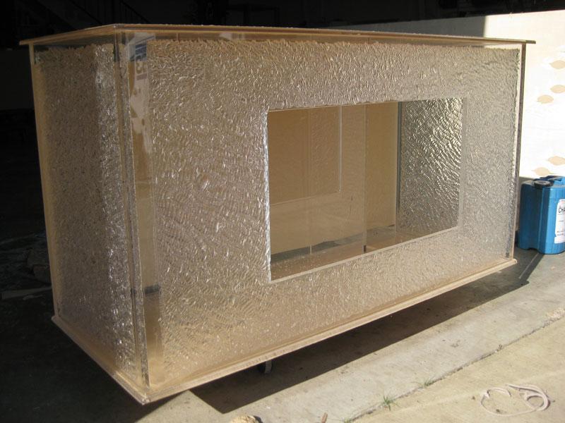 Custom Acrylic Aquarium Stand