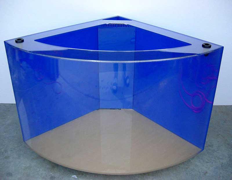 Quarter Cylinder Aquarium