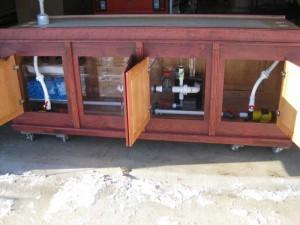 Large Custom Aquarium Cabinet
