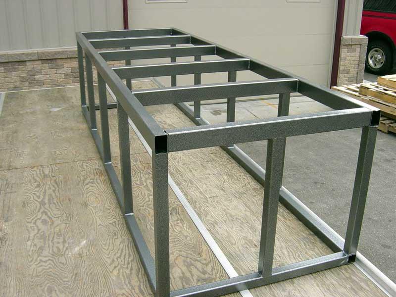Steel Support Frames 2 Midwest Custom Aquarium