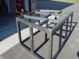 Steel Support Frames 3 for Aquarium