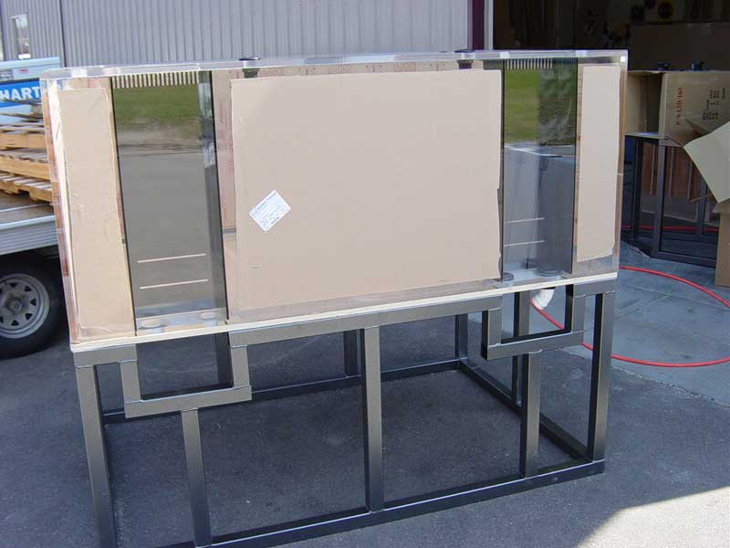 Steel Support Frames for Aquariums Aquariums and Fish Tanks, Midwest ...