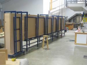 Steel Support Frames for Aquarium