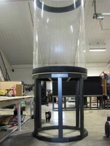 aquarium steel frame