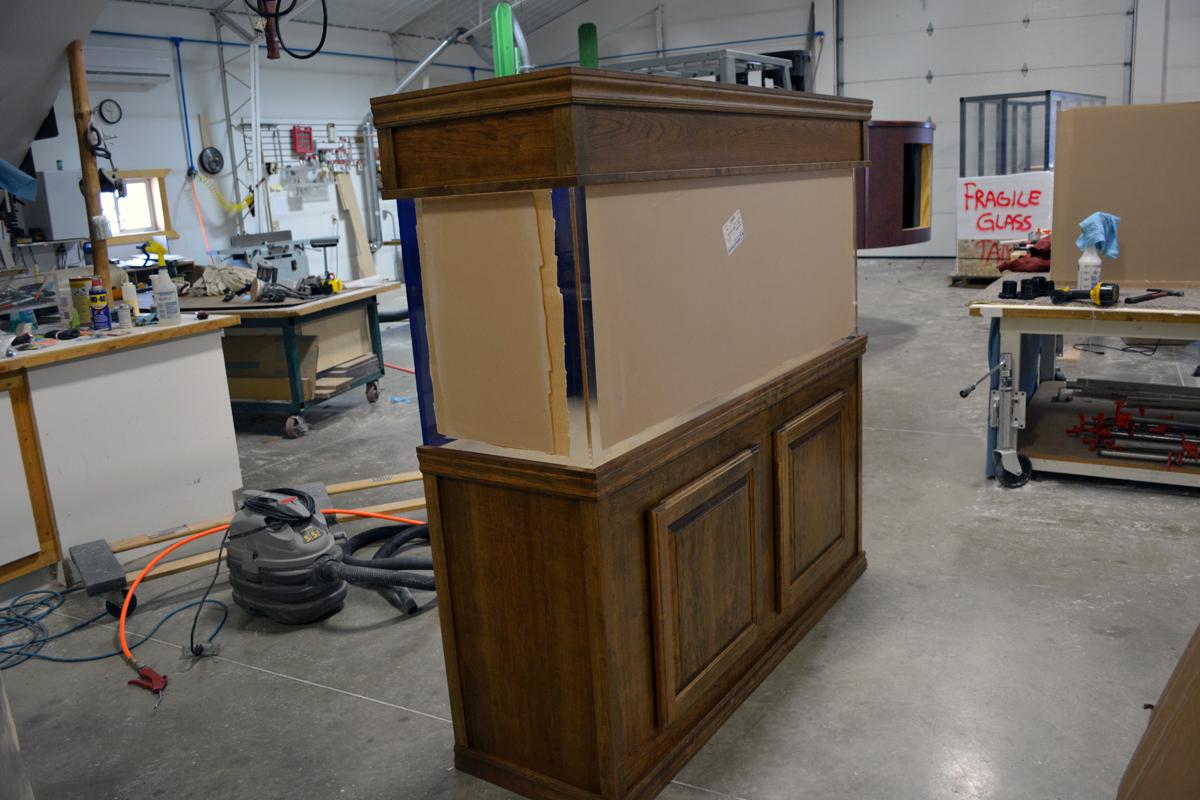 Wood Aquarium Cabinetry Midwest Custom Aquarium