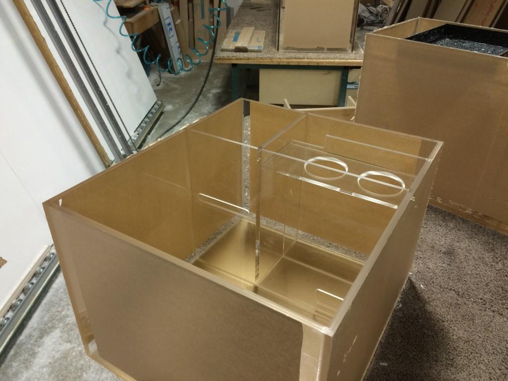 custom sump built to specs