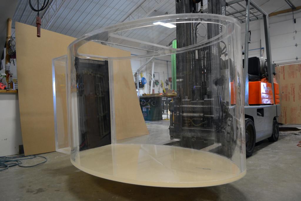 Acrylic Oval Aquarium