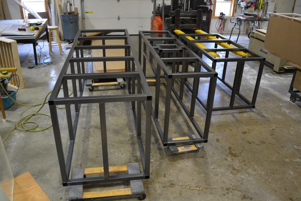 steel frame for aquarium