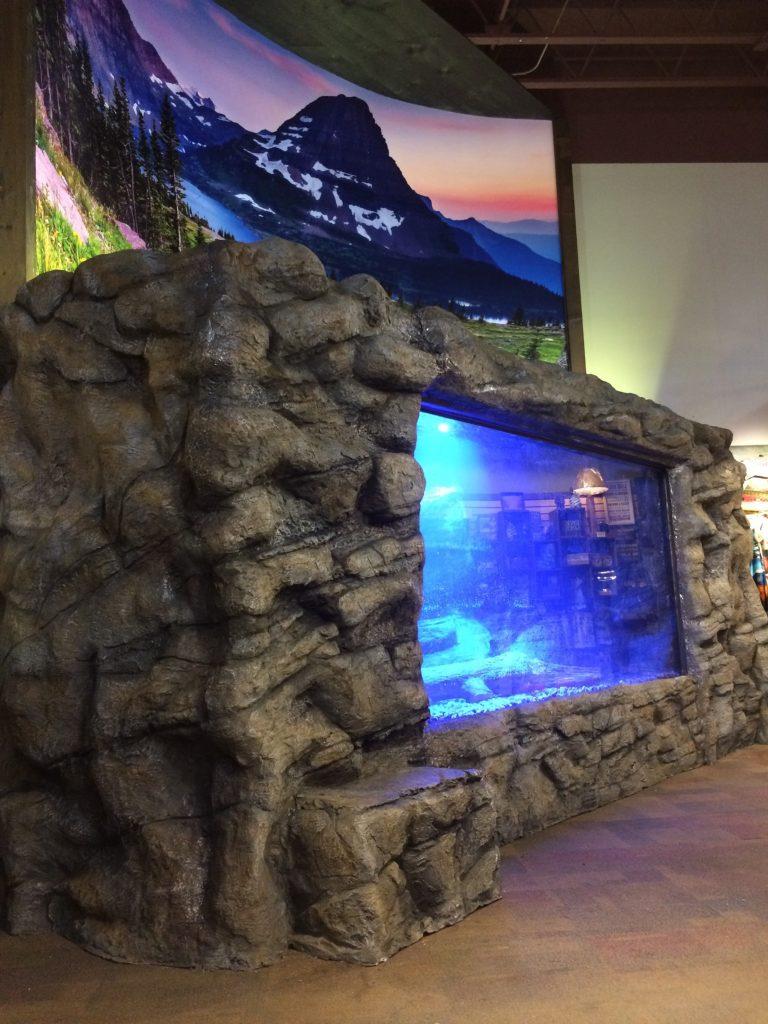 Fiberglass Aquarium