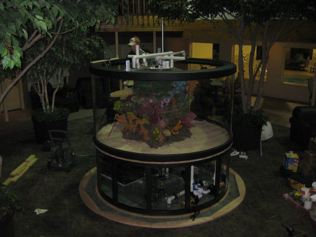 os-aquarium-construction