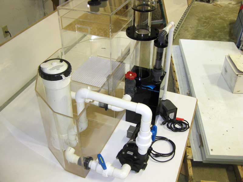 Compact filtration system